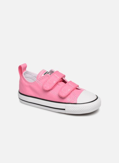 Baskets Converse Chuck Taylor All Star 2V Ox Rose vue détail/paire