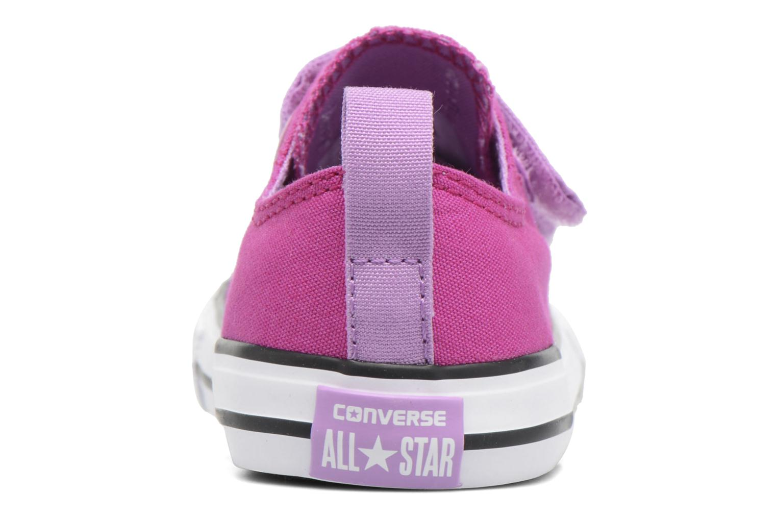 Trainers Converse Chuck Taylor All Star 2V Ox Purple view from the right