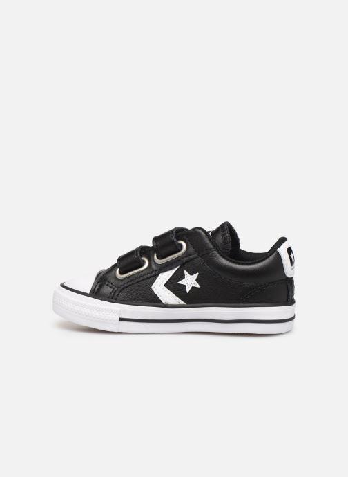 Sneakers Converse Star Player Ev 2V Ox Zwart voorkant