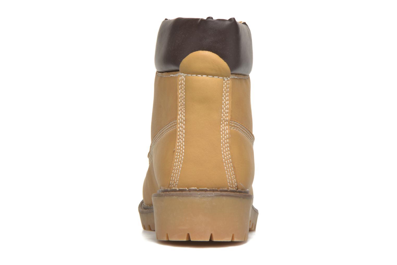 Bottines et boots I Love Shoes THODILLOT Beige vue droite