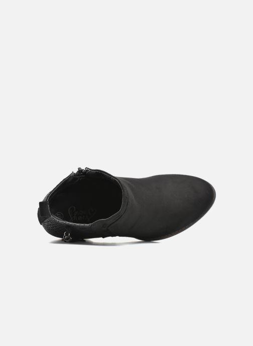 Boots en enkellaarsjes I Love Shoes THANSE Zwart links