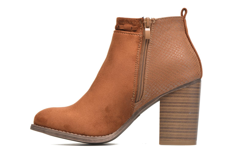 Bottines et boots I Love Shoes THANSE Marron vue face