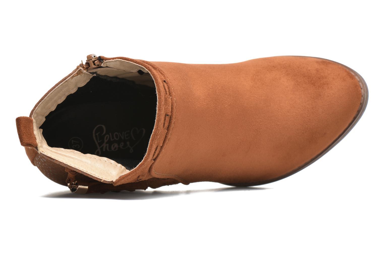 Bottines et boots I Love Shoes THANSE Marron vue gauche