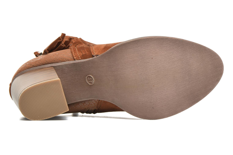 Bottines et boots I Love Shoes THANSE Marron vue haut