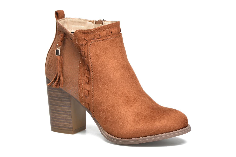 Bottines et boots I Love Shoes THANSE Marron vue détail/paire