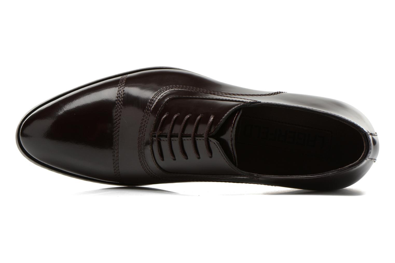 Chaussures à lacets Lagerfeld Mathias by Lagerfeld Marron vue gauche