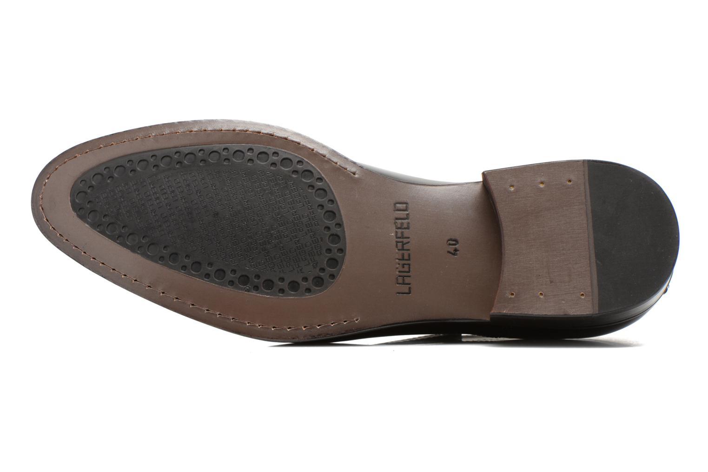 Chaussures à lacets Lagerfeld Mathias by Lagerfeld Marron vue haut