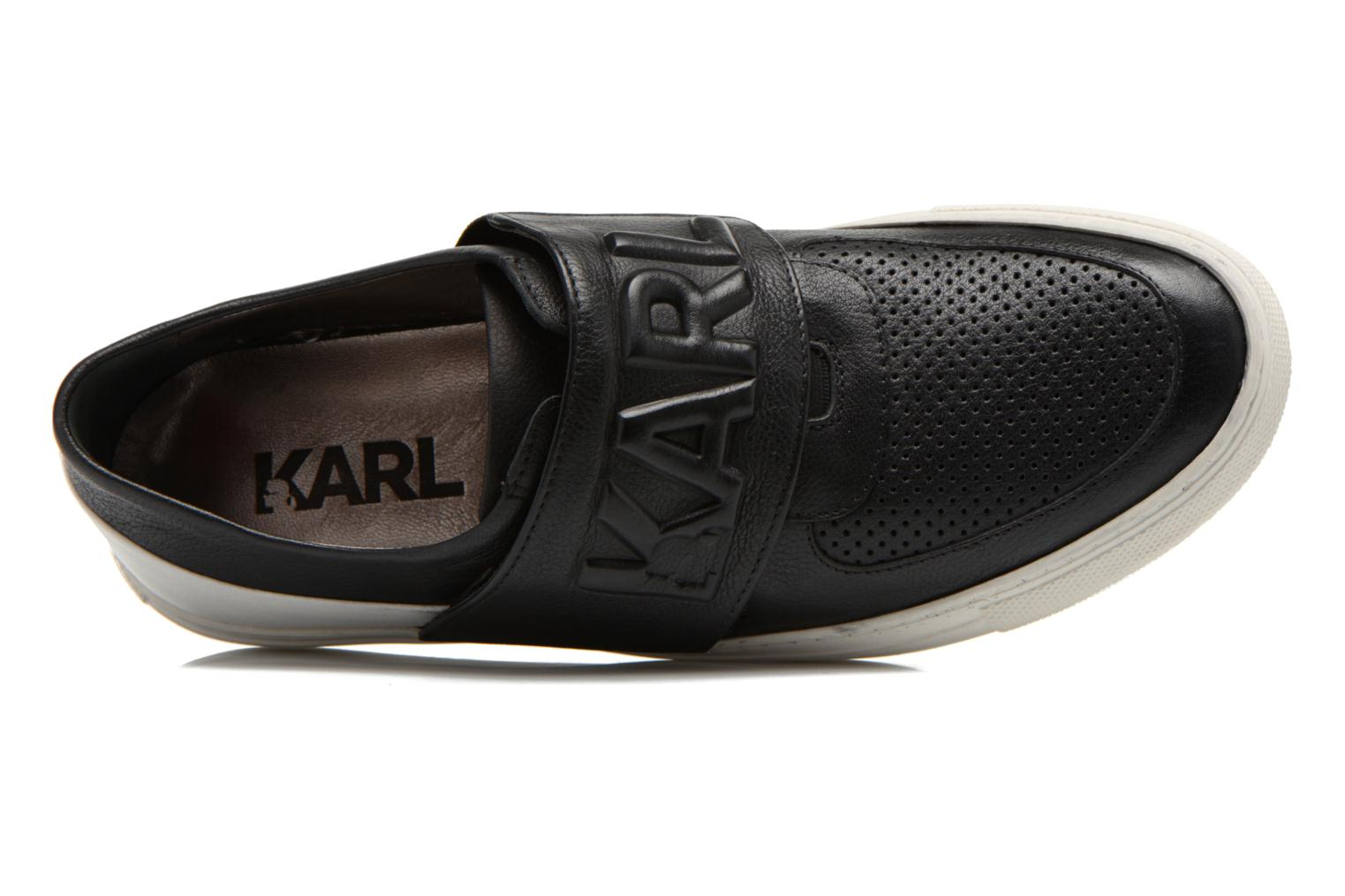 Sneakers Lagerfeld Bob by Karl Lagerfeld Nero immagine sinistra
