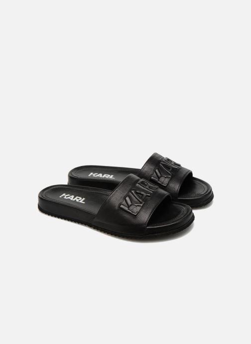 Sandales et nu-pieds Lagerfeld Jose by Karl Lagerfeld Noir vue 3/4