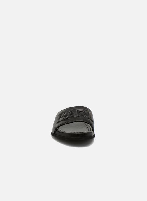 Sandales et nu-pieds Lagerfeld Jose by Karl Lagerfeld Noir vue portées chaussures