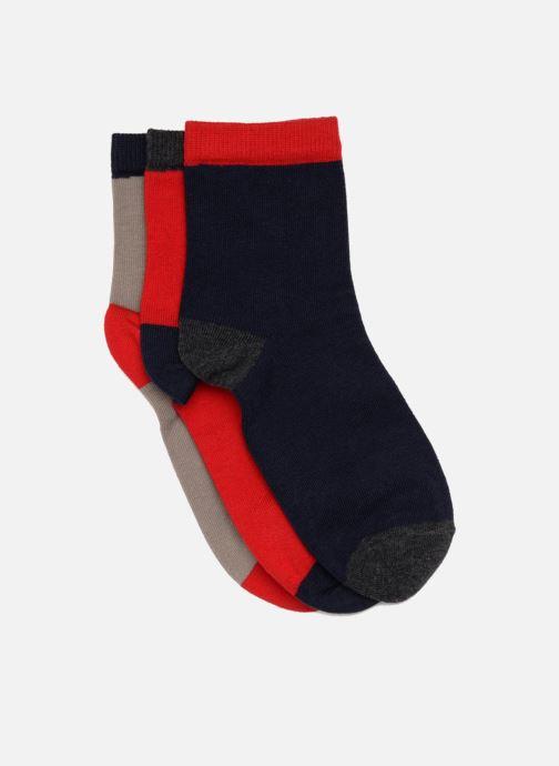 Chaussettes et collants Sarenza Wear Chaussettes enfant Pack de 3 coton  Multicolore vue détail paire 8730c4bcc2cd