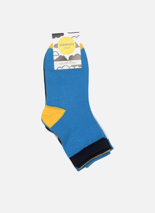 Chaussettes et collants Sarenza Wear Chaussettes enfant Pack de 3 coton Multicolore vue droite