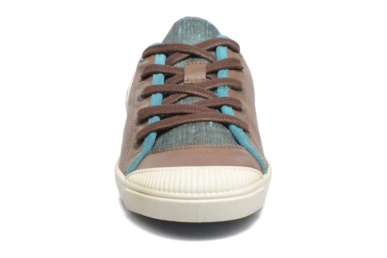 Baskets Pataugas Lenza F Marron vue portées chaussures