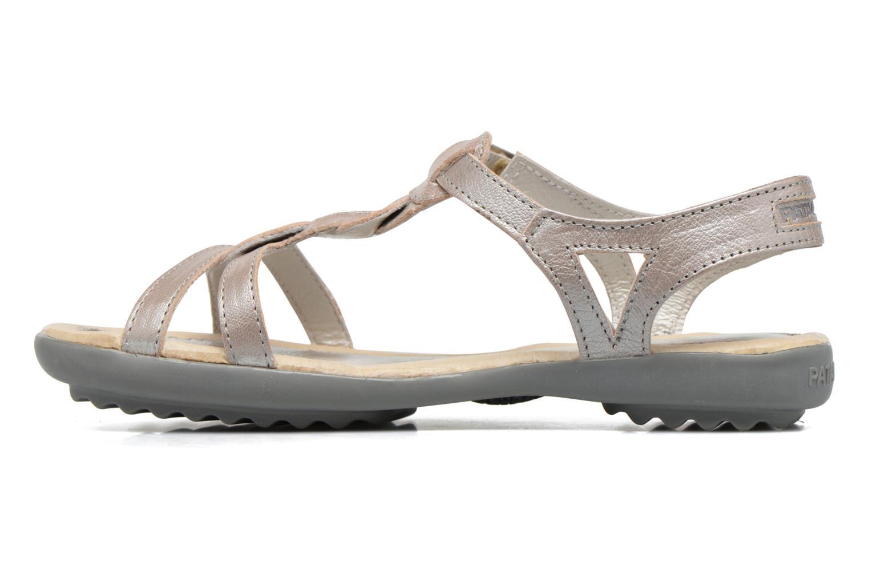Sandales et nu-pieds Pataugas Claire J Argent vue face