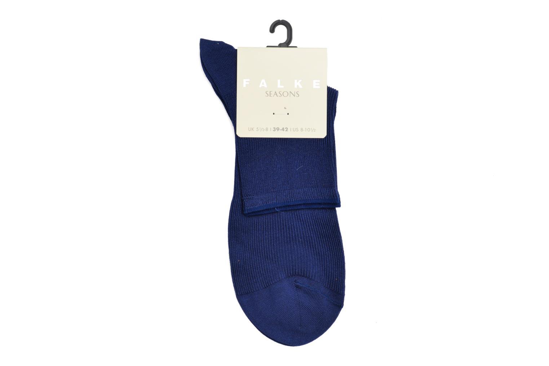 Chaussettes et collants Falke Chaussettes LUMINOUS Bleu vue portées chaussures