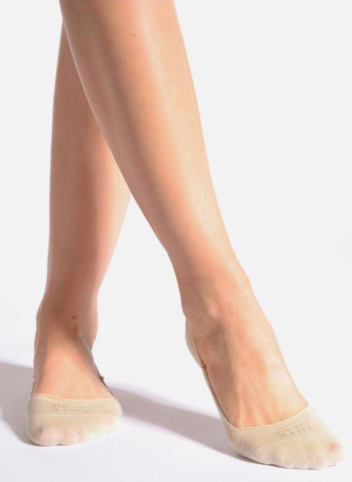 Sokken en panty's Falke Chaussettes invisibles Femme Coton Beige detail