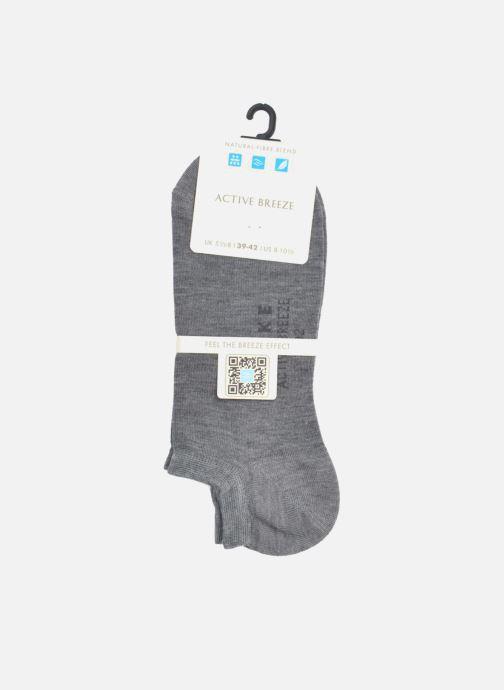 Chaussettes et collants Falke Mini-Socquettes ACTIVEBREEZE Gris vue portées chaussures