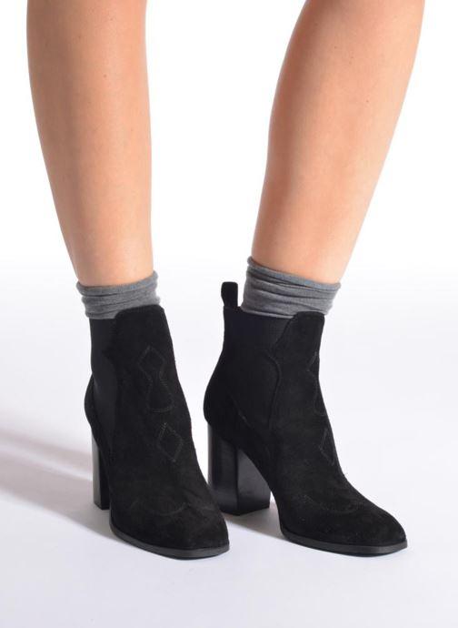 Chaussettes et collants Falke Chaussettes ACTIVEBREEZE Gris vue portées chaussures