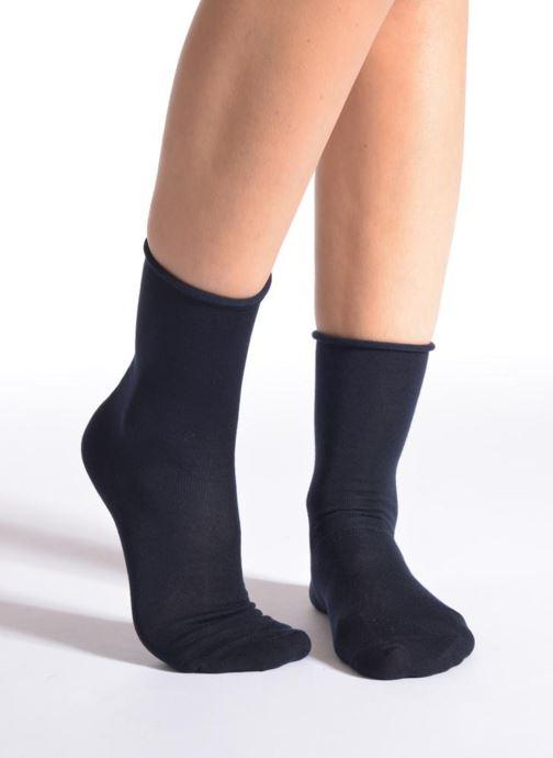 Strømper og tights Falke Strømper ACTIVEBREEZE Blå detaljeret billede af skoene