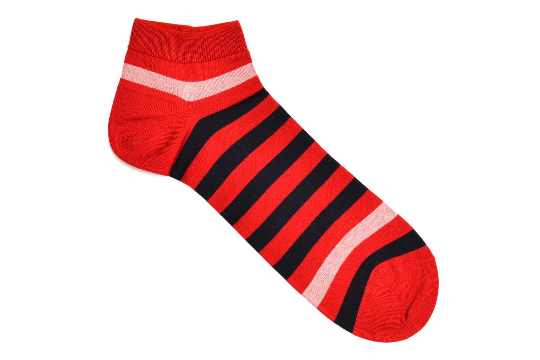 Chaussettes et collants Falke Mini-Socquettes MARITIME STRIPE Rouge vue détail/paire