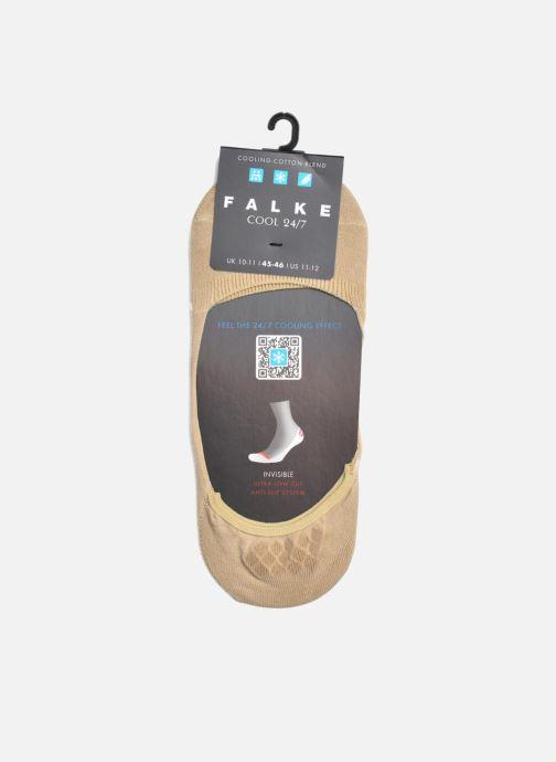 Socken & Strumpfhosen Falke Socken COOL 24/7 beige ansicht von hinten