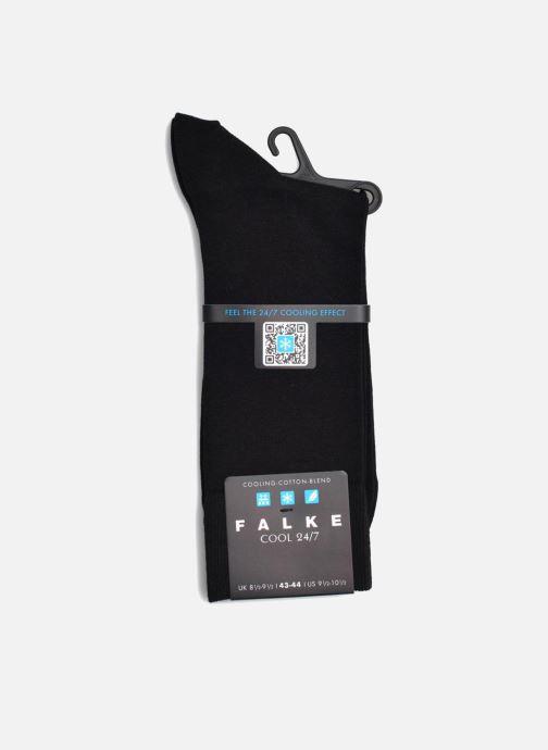 Chaussettes et collants Falke Mini-Socquettes COOL 24/7 Noir vue derrière