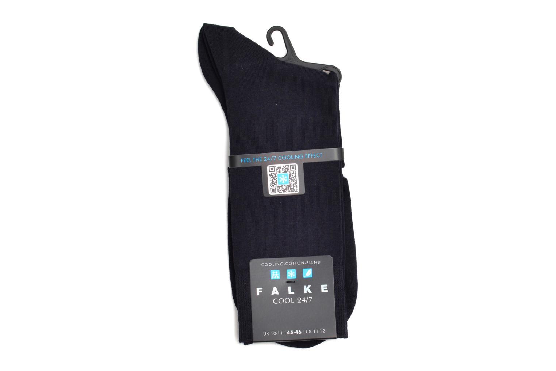 Chaussettes et collants Falke Mini-Socquettes COOL 24/7 Bleu vue derrière
