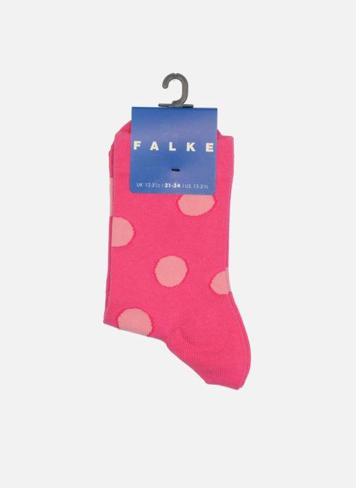 Calze e collant Falke Socquettes Enfant Coton Spotted SO Rosa modello indossato
