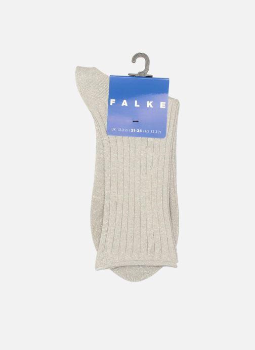 Socken & Strumpfhosen Falke Söckchen GLITTER grau ansicht von hinten