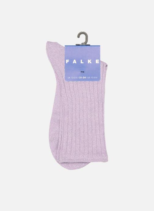 Socks & tights Falke Ankle socks GLITTER Purple back view