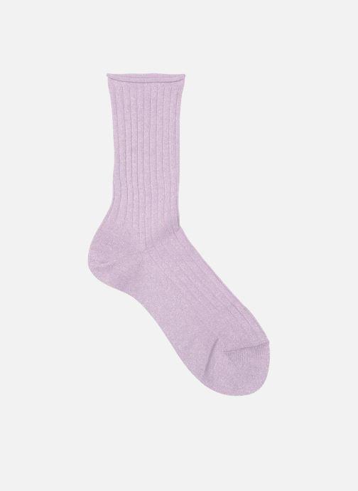 Socks & tights Falke Ankle socks GLITTER Purple detailed view/ Pair view