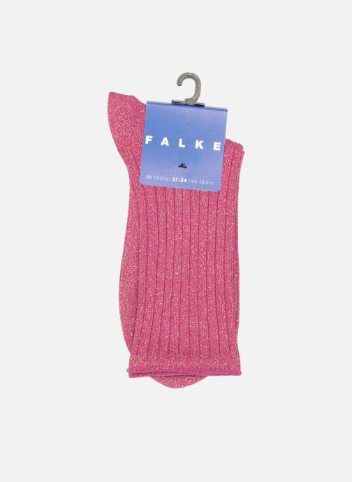 Sokken en panty's Falke Kwart enkelsokken GLITTER Roze achterkant