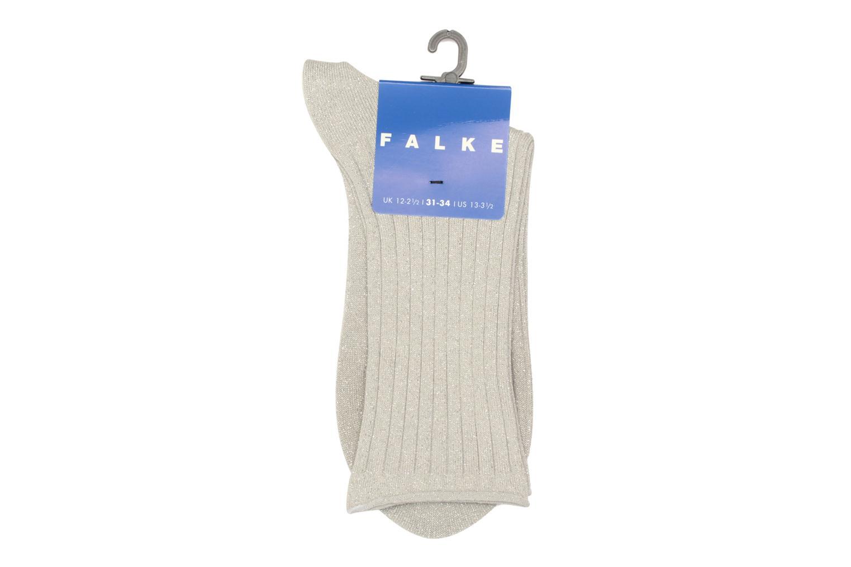 Chaussettes et collants Falke Socquettes GLITTER Gris vue derrière