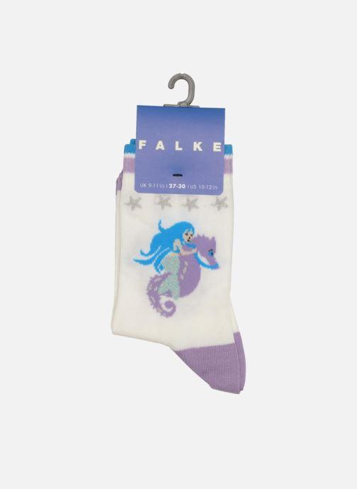 Chaussettes et collants Falke Socquettes Enfant Coton Mermaid SO Blanc vue portées chaussures