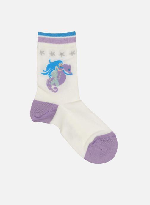 Chaussettes et collants Falke Socquettes Enfant Coton Mermaid SO Blanc vue détail/paire