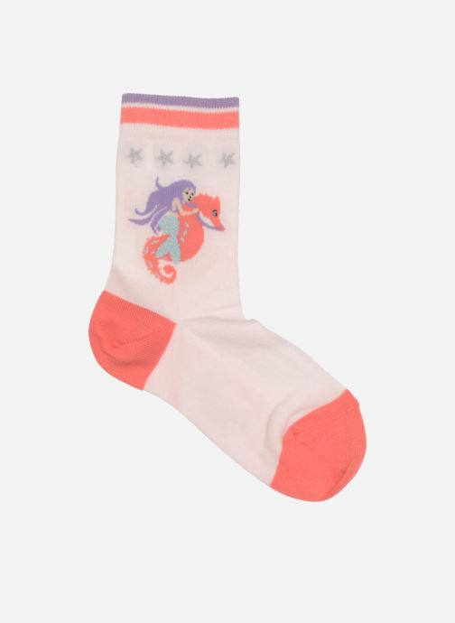 Socks & tights Falke Socquettes Enfant Coton Mermaid SO Pink detailed view/ Pair view