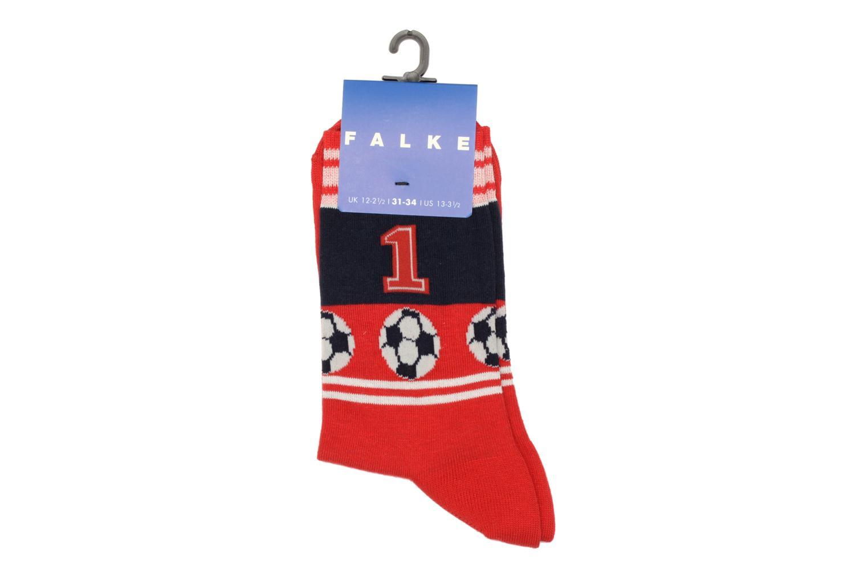 Chaussettes et collants Falke Socquettes SOCCER Rouge vue derrière