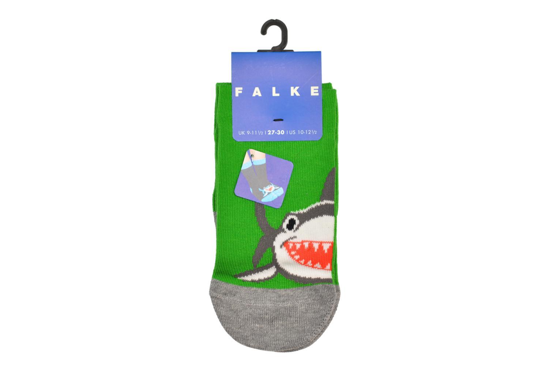 Chaussettes et collants Falke Socquettes Enfant Coton Shark SO Gris vue portées chaussures