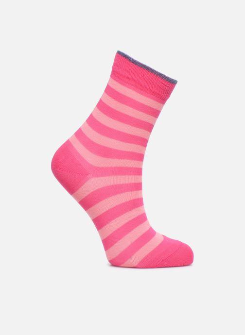 Socks & tights Falke Socks DOUBLE STRIPE Pink detailed view/ Pair view