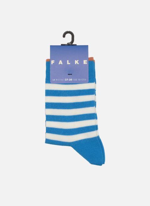 Chaussettes et collants Falke Chaussettes DOUBLE STRIPE Bleu vue portées chaussures