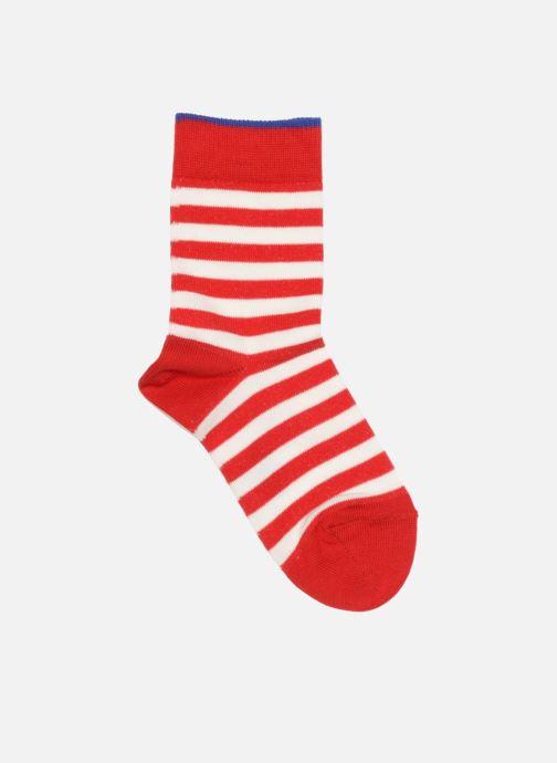 Socken & Strumpfhosen Falke Socken DOUBLE STRIPE rot detaillierte ansicht/modell