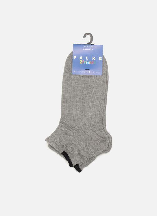 Chaussettes et collants Falke Mini-Socquettes FRIENDS Pack de 2 Gris vue derrière