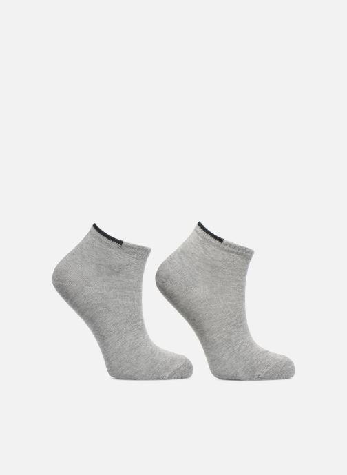 Chaussettes et collants Falke Mini-Socquettes FRIENDS Pack de 2 Gris vue détail/paire