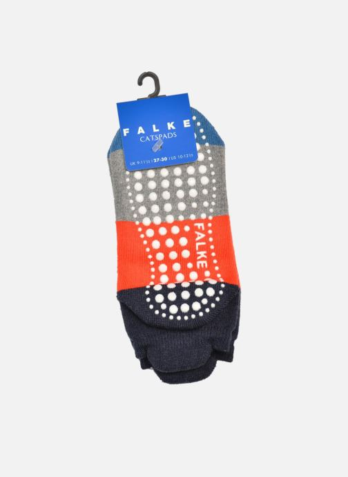 Socken & Strumpfhosen Falke Chaussons Enfant Coton Colour block CP grau schuhe getragen