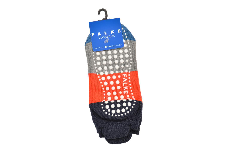 Chaussettes et collants Falke Chaussons Enfant Coton Colour block CP Gris vue portées chaussures