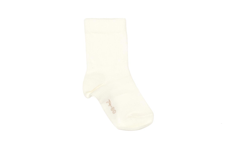 Chaussettes et collants Falke Chaussettes SENSITIVE Blanc vue détail/paire