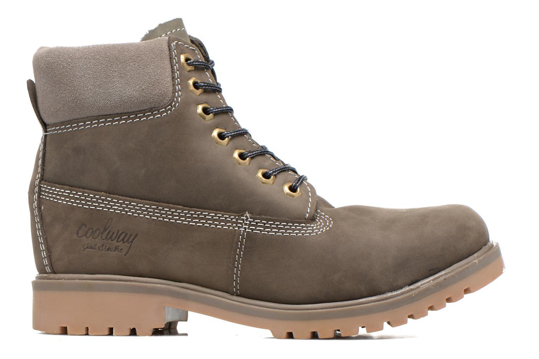 Boots en enkellaarsjes Coolway Basilman Grijs achterkant