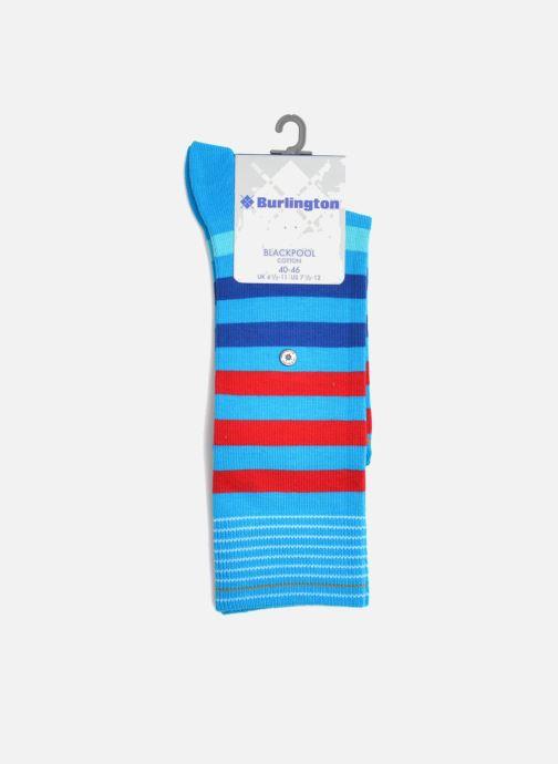 Chaussettes et collants Burlington Chaussettes BLACKPOOL SO Bleu vue derrière
