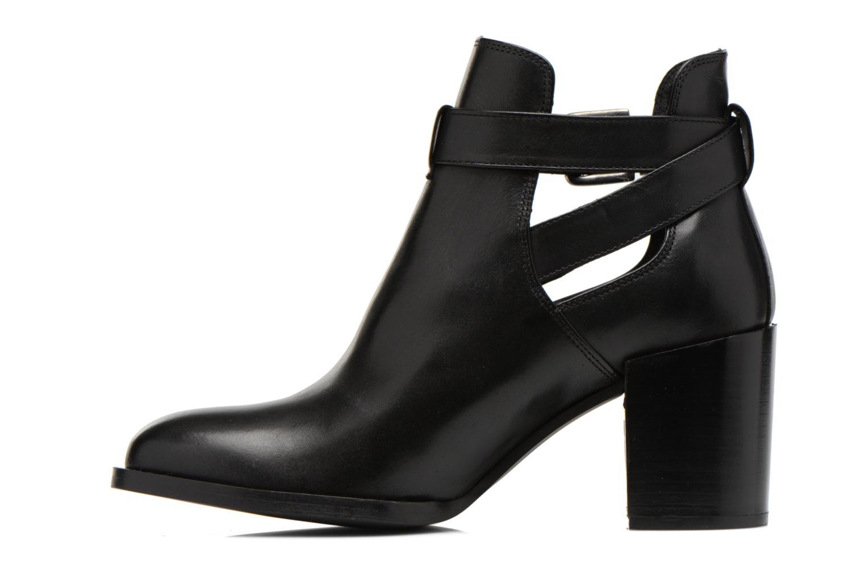 Stiefeletten & Boots Minelli F80 801 schwarz ansicht von vorne