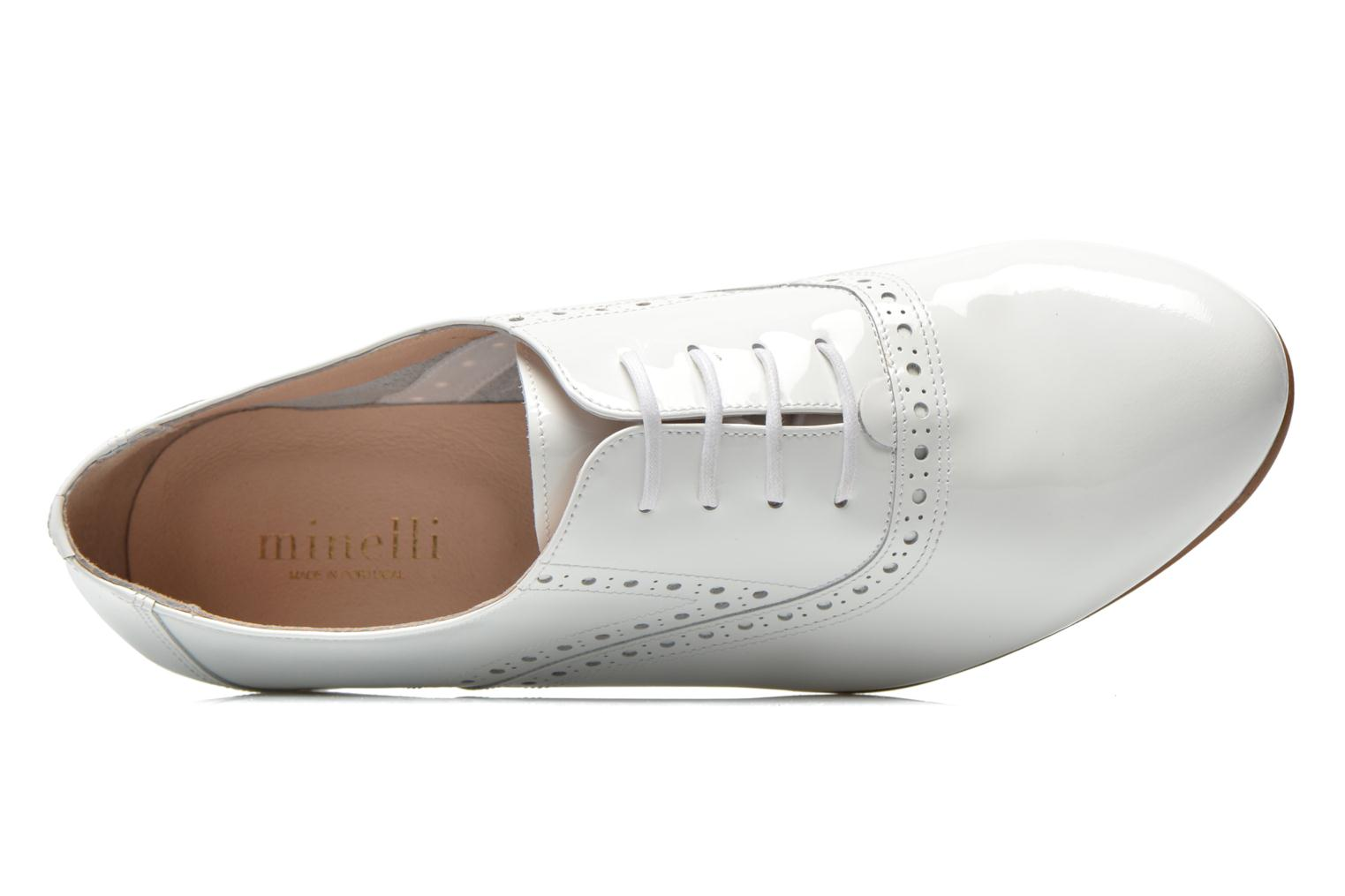 Lace-up shoes Minelli F61 430/VER White view from the left